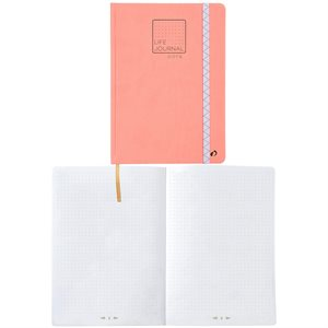 Journal Bullet - Rouge Corail