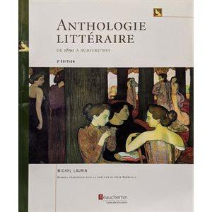Anthologie littéraire de 1850 à aujourd'hui