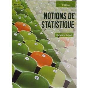 Notions de statistiques, 3e éd