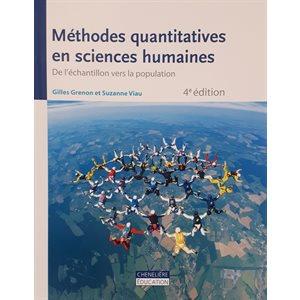 Méthodes quantitatives en sciences humaines, 4e édition