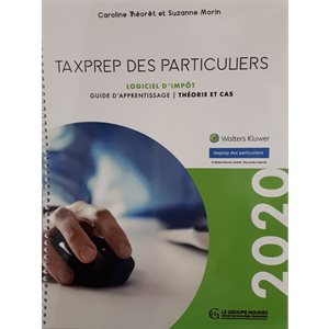Taxprep des particuliers 2020 - Guide d'apprentissage