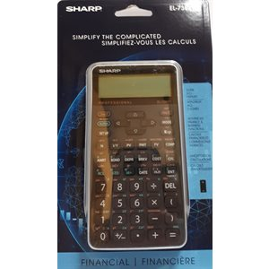 Calculatrice Financière Sharp EL-738FC