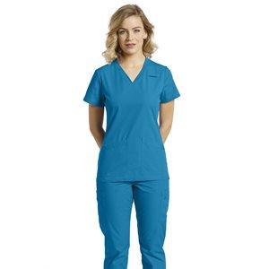 Uniforme Soins - Haut #766 - Bleu Hawaii 2XL