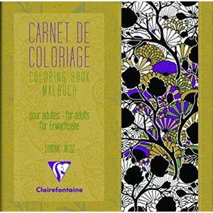 Carnet de Coloriage pour adultes Motifs ClaireFontaine