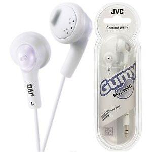 Écouteurs JVC HA-F160-W Gummy Blanc